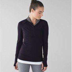 Lululemon Think Fast Pullover Parallel Stripe 10